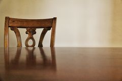 Wooden chair and stock photos