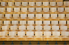 Wooden Chairs Royalty Free Stock Photos