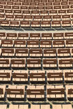 Wooden chairs Stock Images