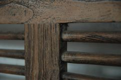 Wooden chairs blur background brown color old furniture classic nobody royalty free stock photography