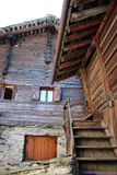 Wooden chalet Royalty Free Stock Photography