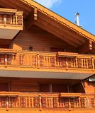 Wooden chalet Royalty Free Stock Photo