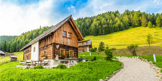 Wooden chalet Royalty Free Stock Photos