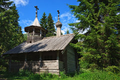 Wooden chapel Royalty Free Stock Image