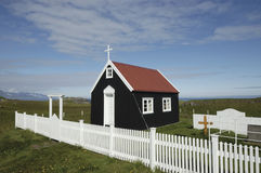 Wooden chapel. Royalty Free Stock Photo