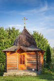 Wooden chapel Stock Photo