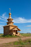 Wooden chapel Stock Image
