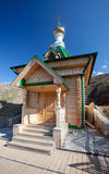 Wooden chapel. Russia. Perm Stock Photos