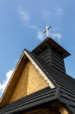 Wooden chapel Stock Images