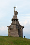 Wooden chapel St. Nicholas Stock Photography