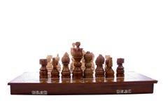 Wooden chess Stock Photos