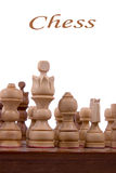 Wooden chess Royalty Free Stock Photos