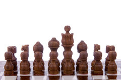 Wooden chess Stock Photo