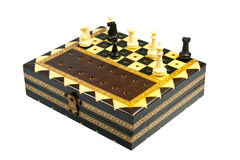 Wooden chess Stock Images