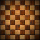 Wooden Chess Board Stock Images