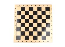 Wooden chess board Stock Photos