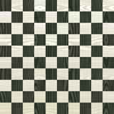 Wooden chess board pattern Stock Photo
