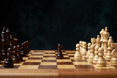 Wooden chess Royalty Free Stock Photo