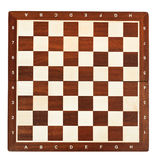 Wooden chessboard Stock Photography