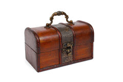 Wooden chest Royalty Free Stock Photography