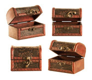 Wooden chest Stock Photos
