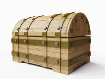 Wooden Chest royalty free illustration