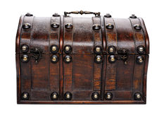 Wooden chest. Stock Photography