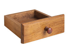 Wooden chest drawer. Royalty Free Stock Images