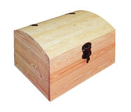 Wooden Chest Royalty Free Stock Image