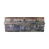 Wooden chests. On a white background Royalty Free Stock Image