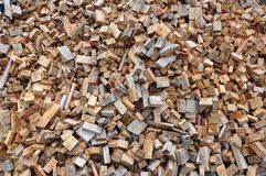 Wooden chip Royalty Free Stock Image