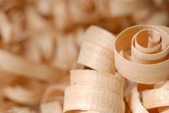 Wooden chips Stock Image