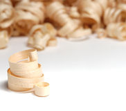Wooden chips Royalty Free Stock Images