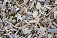 Wooden chips Royalty Free Stock Photos
