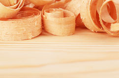 Wooden chips Stock Photography