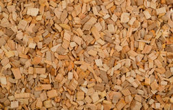 Wooden chips as background Stock Photography