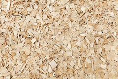 Wooden chips  background. Stock Photo