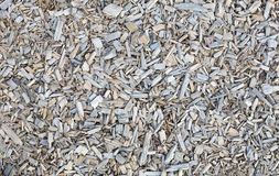 Wooden chips, bark mulch Royalty Free Stock Photos