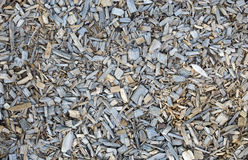 Wooden chips, bark mulch Royalty Free Stock Images