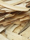 Wooden chips Stock Images