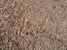Wooden chips Royalty Free Stock Photography