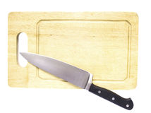 Wooden chopping board Royalty Free Stock Photography