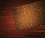 Wooden Chopping Board Royalty Free Stock Photos