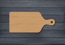 Wooden chopping board Stock Photo