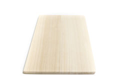 Wooden chopping board isolated white background. Wooden chopping board isolated on white background Stock Images