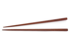 Wooden chopsticks Stock Image