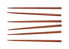 Wooden chopsticks Stock Images