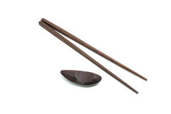 Wooden chopsticks Royalty Free Stock Photography