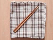 Wooden chopsticks Stock Image