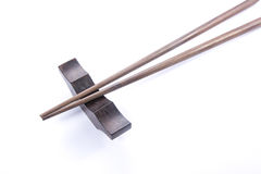 Wooden chopsticks Royalty Free Stock Images